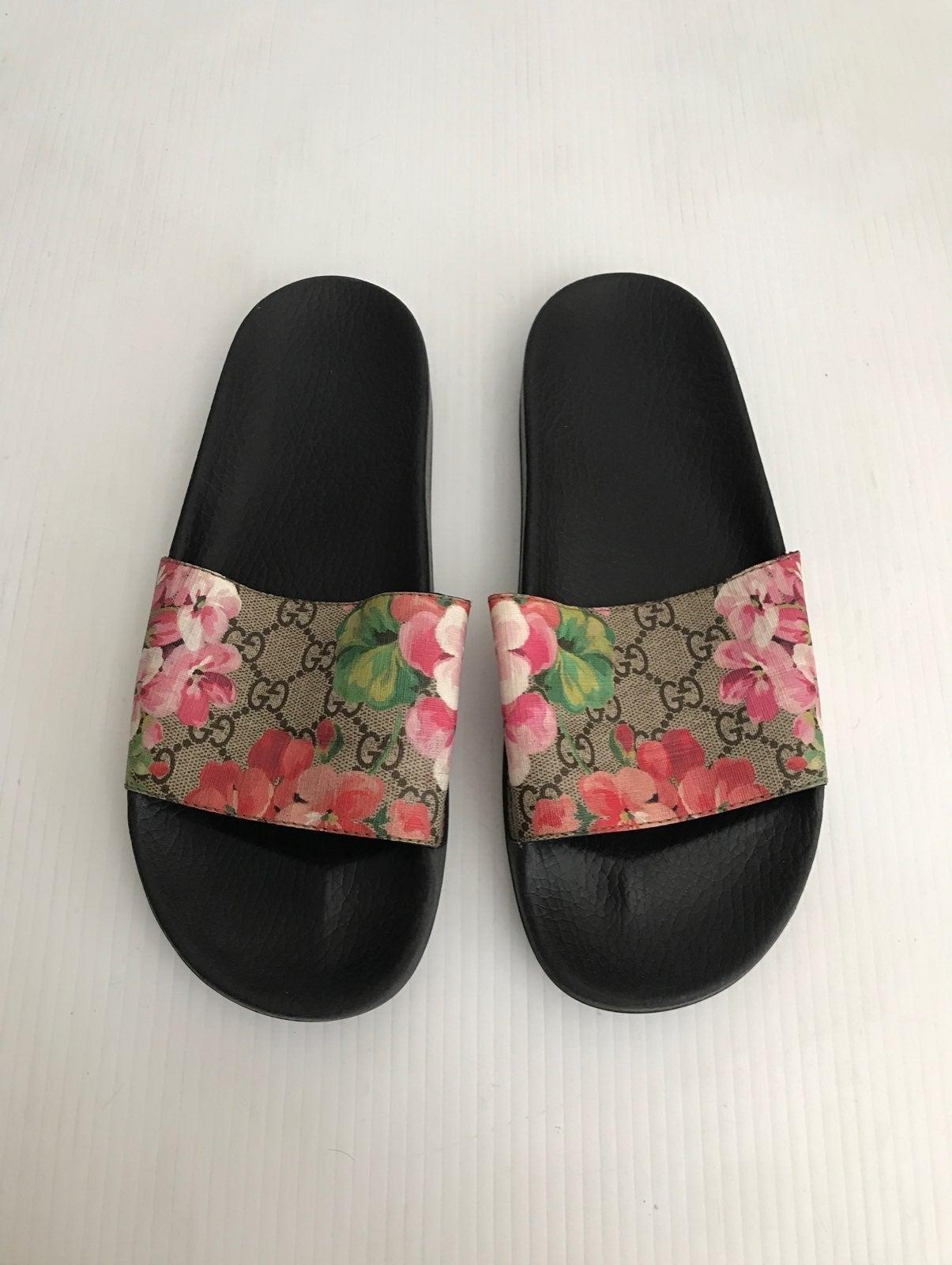 Gucci GG Bloom Pursuit Slide Sandal 41