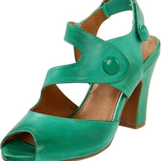 Miz Mooz Sapphire peep toe 3.5 inch heel
