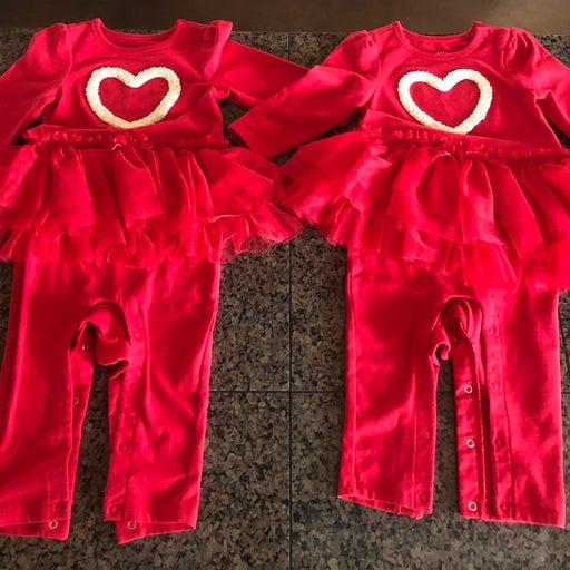 Twin Girls Clothing Bundle (Christmas)