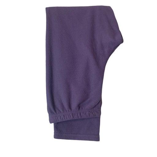 Cuddl Duds Purple Fleece Pants