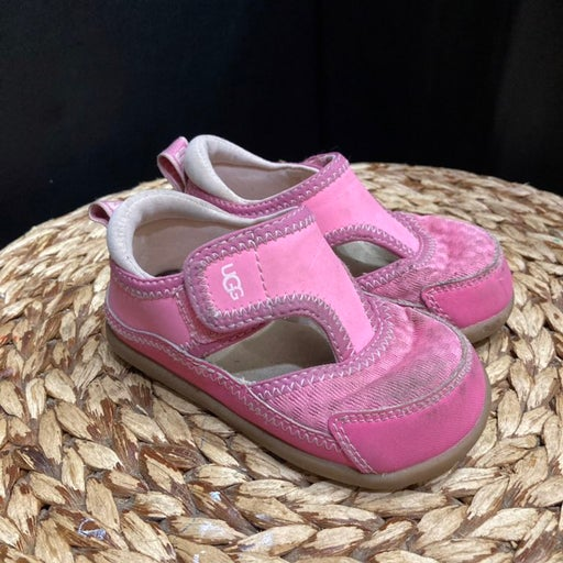 Ugg girls toddler sandals pink strap