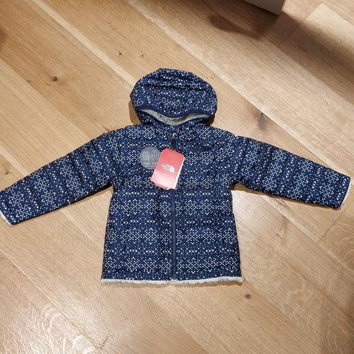 New TNF Toddler Girls Jacket