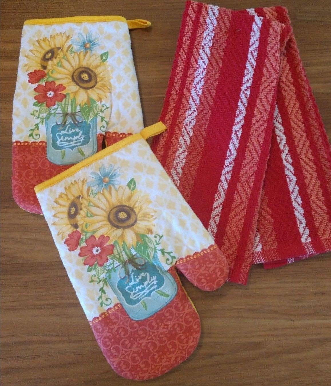 Quality Farmhouse Kitchen Towel Set