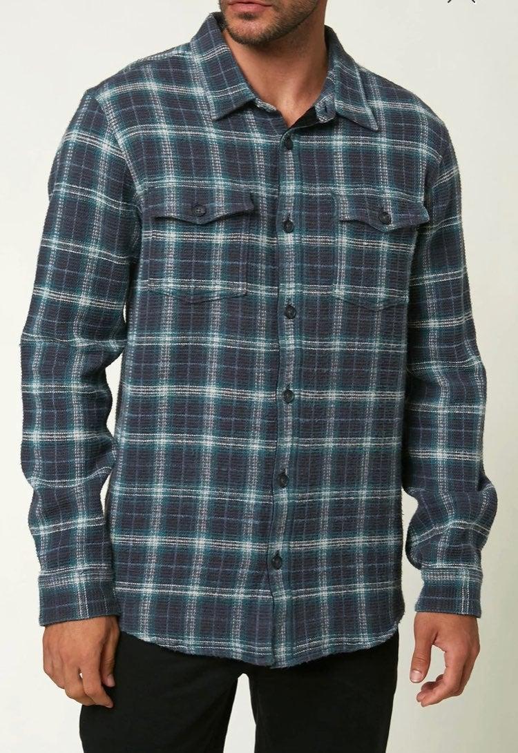 O'Neill Men's flannel shirt S New $65