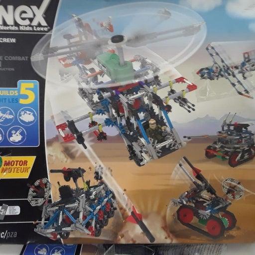 K'NEX building works Combat Crew 5 in 1