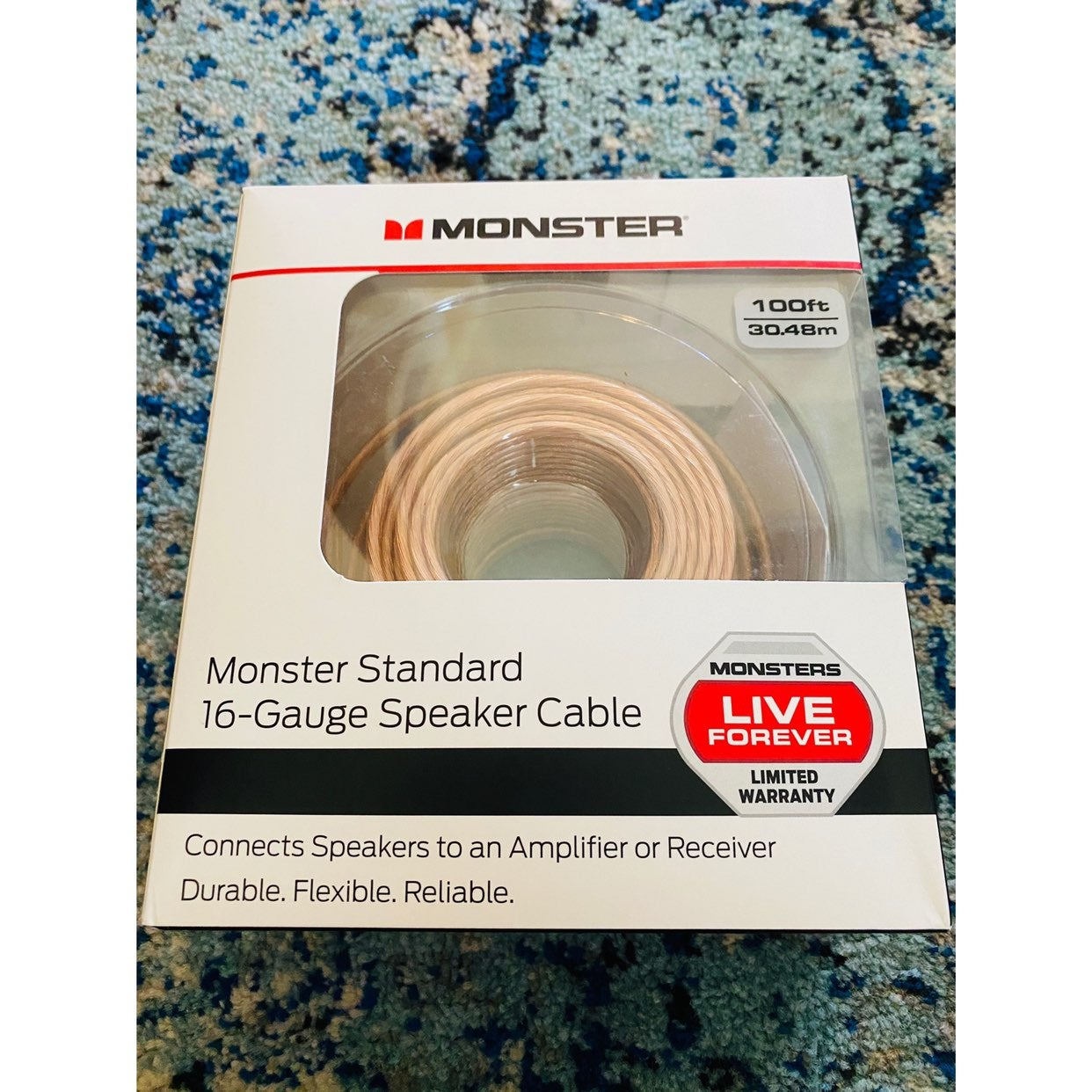Monster Speaker Cable Wire