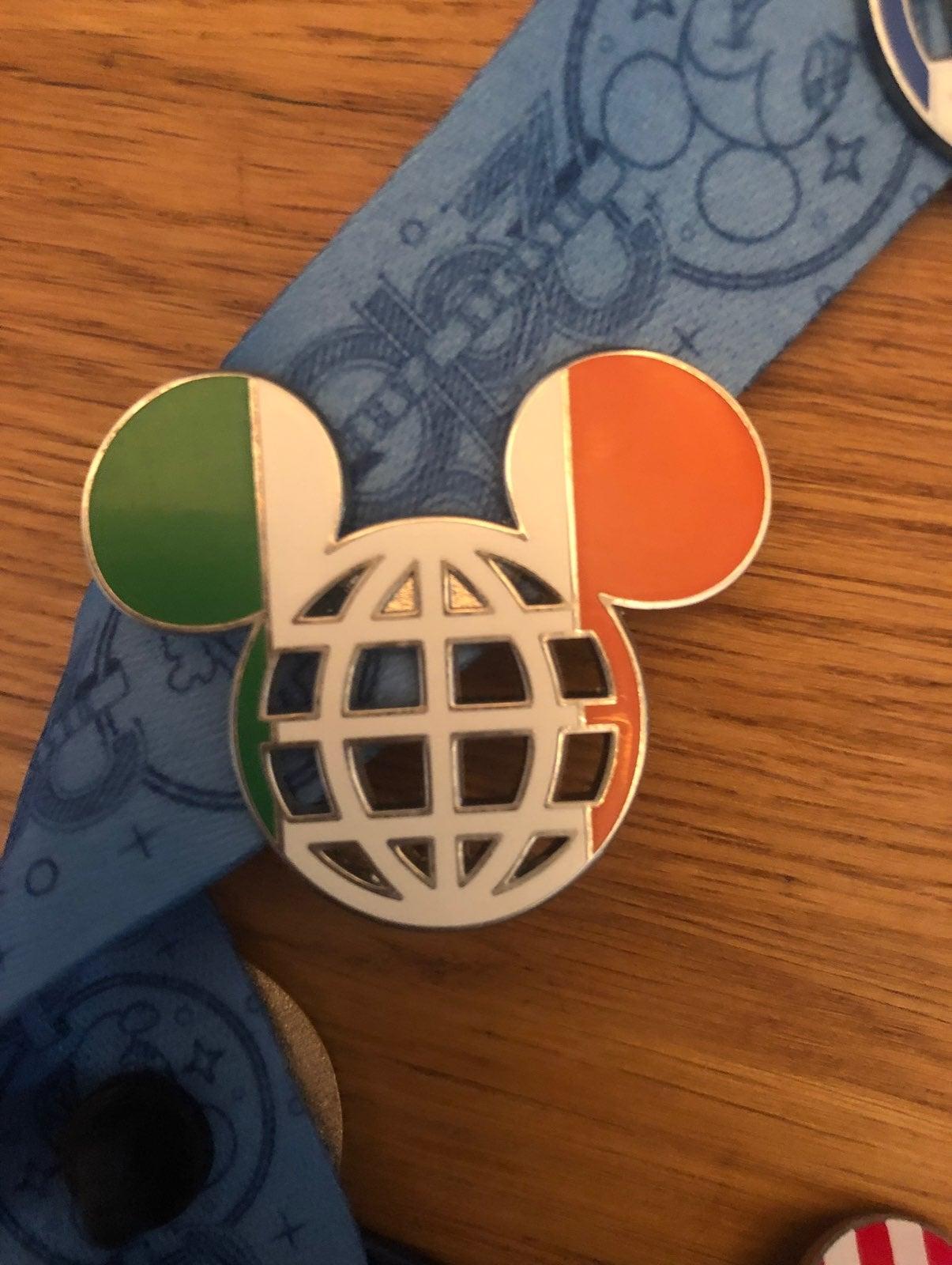 Disney Mickey Ears Ireland Pin