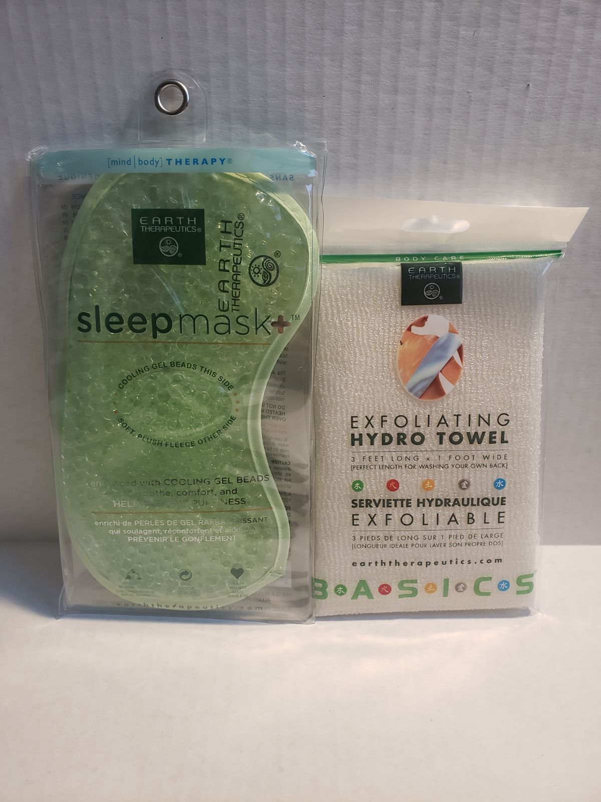 Earth Therapeutics Sleep Mask & Hydro To