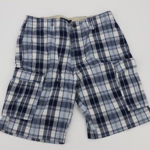 Tommy Hilfiger Mens Cargo Plaid Shorts