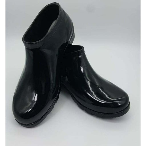 Nomad Ankle Drip boots Womens Black Rain Boots Size 8
