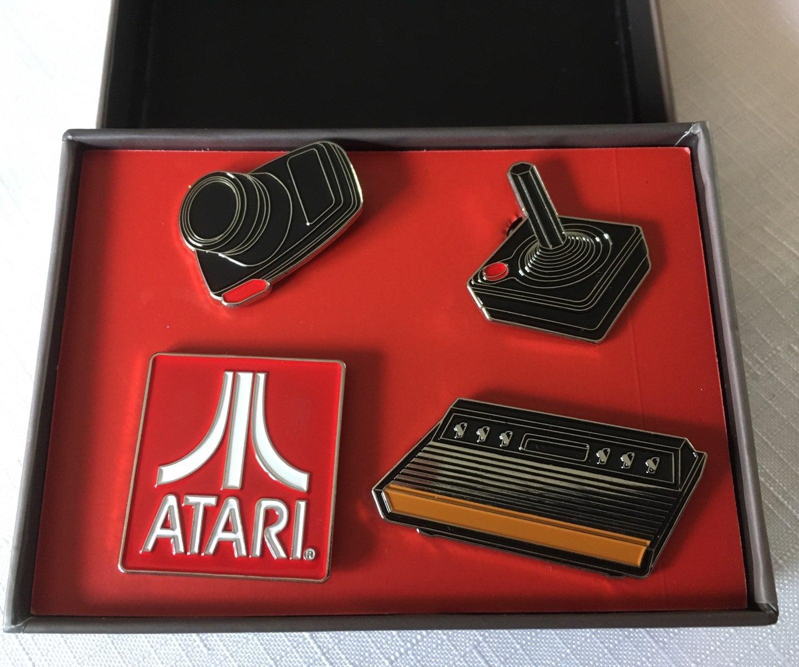 Collectible Atari pins brand new
