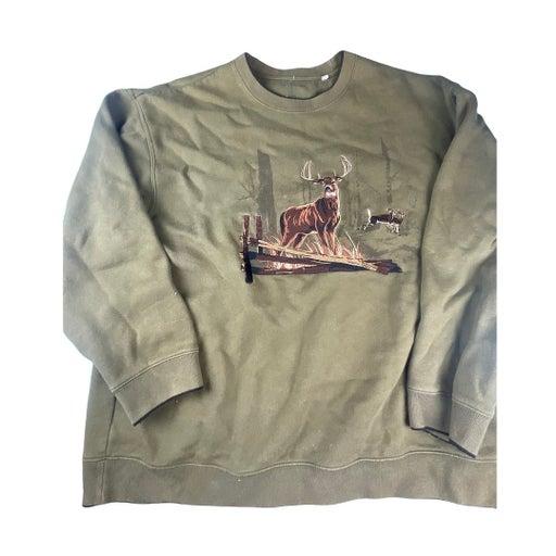 Croft & Barrow Whitetail Deer Sweatshirt