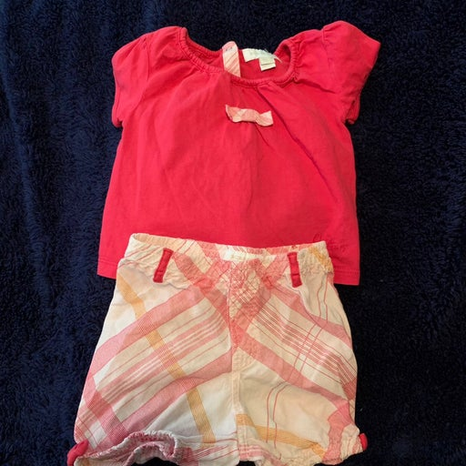 Burberry girls two piece outfit