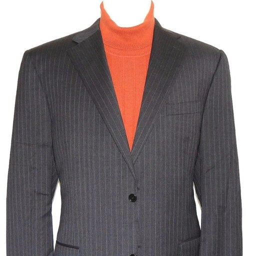 Canali Like New Single Breasted Suit 46L