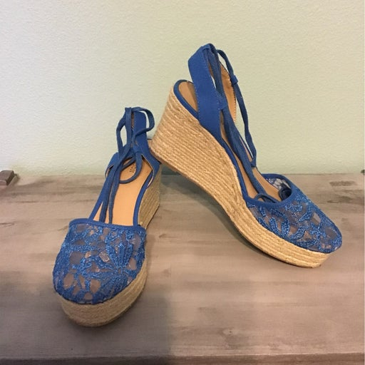 Wedged Espadrille Shoes