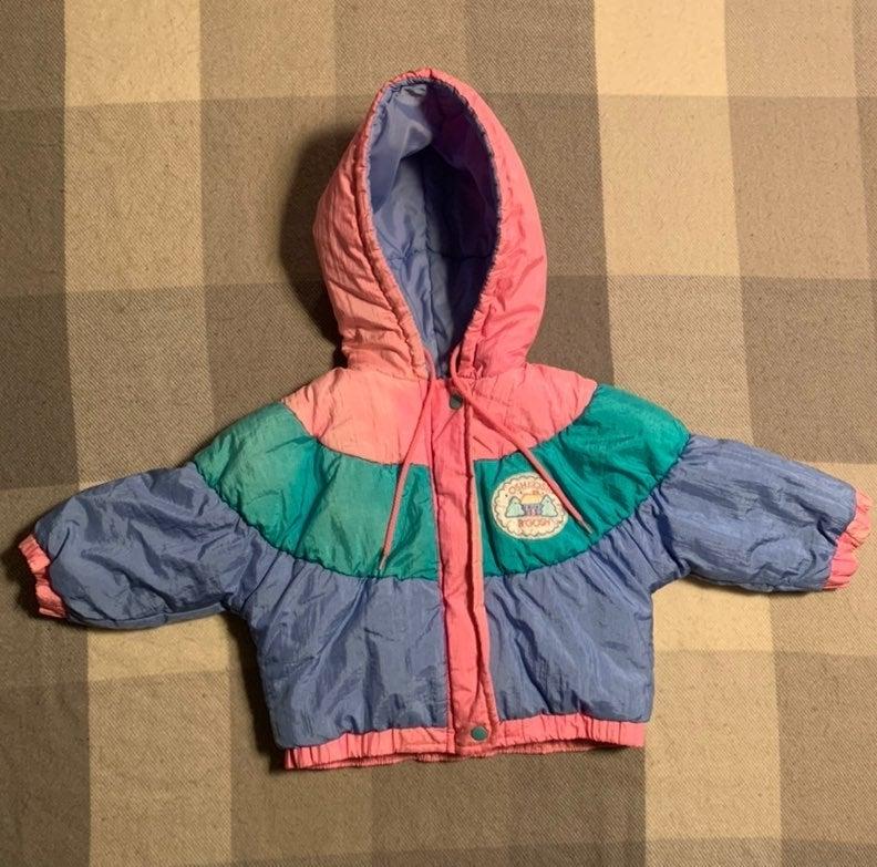 VTG baby girl puffer coat