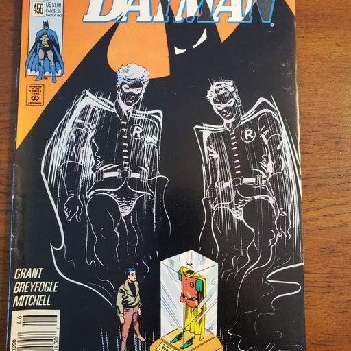 BATMAN #456 DC COMICS 1990 VF+