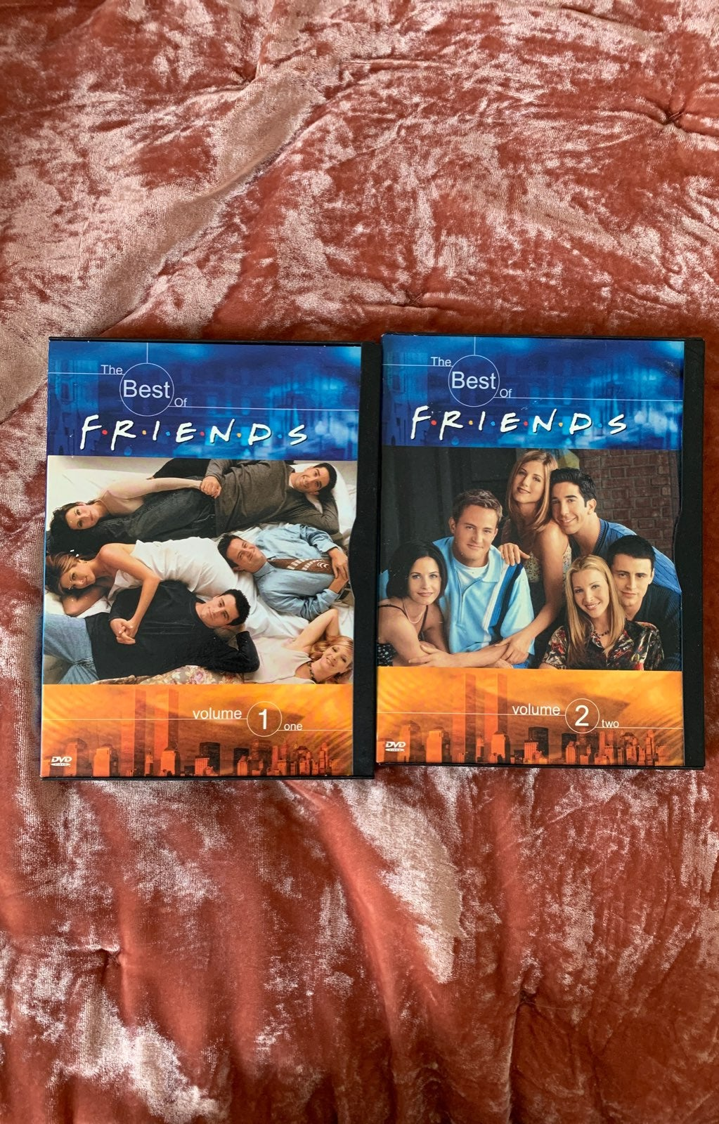 friends tv show: best of volume 1 &2