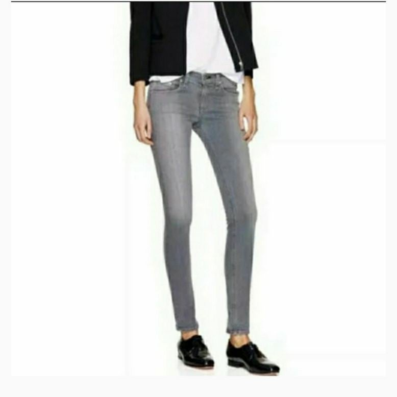 rag & bone Skinny Buxton Gray Jeans