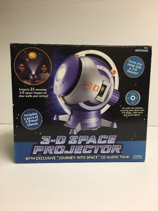 3-D Space Projector