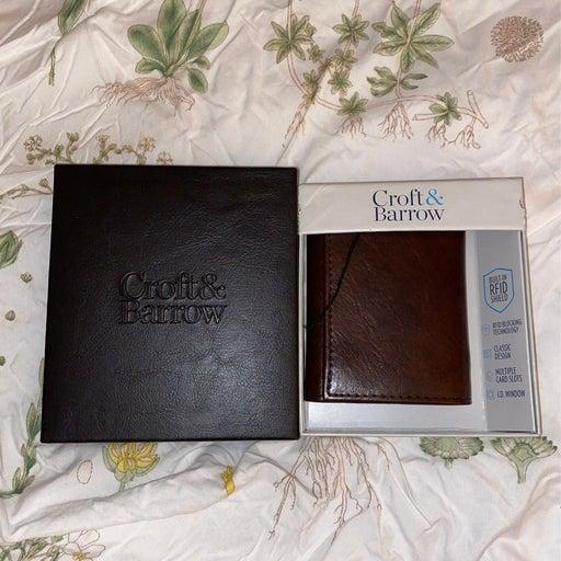 Men's wallet Croft and Barrow