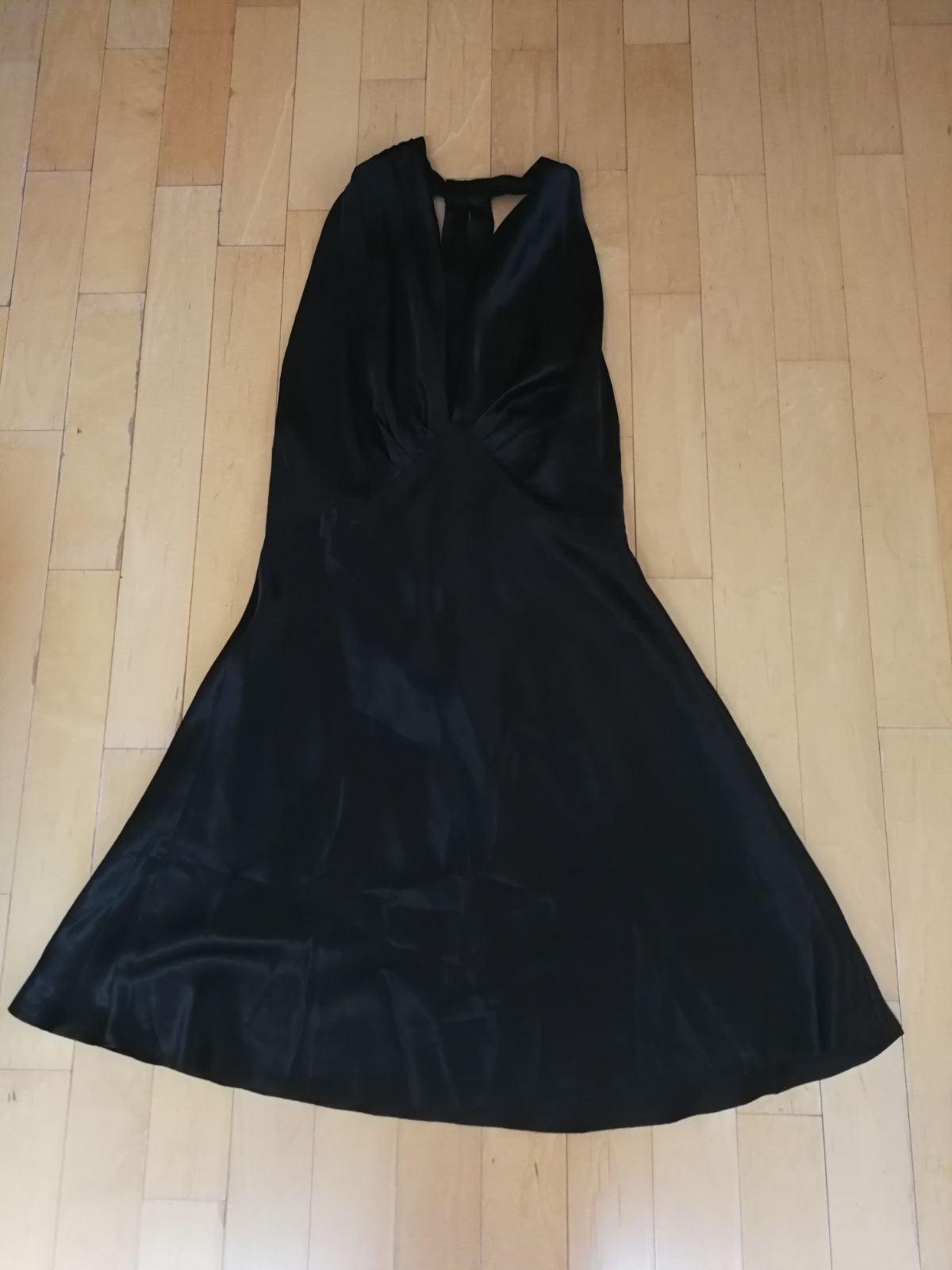 victoria secret silk black cami night go