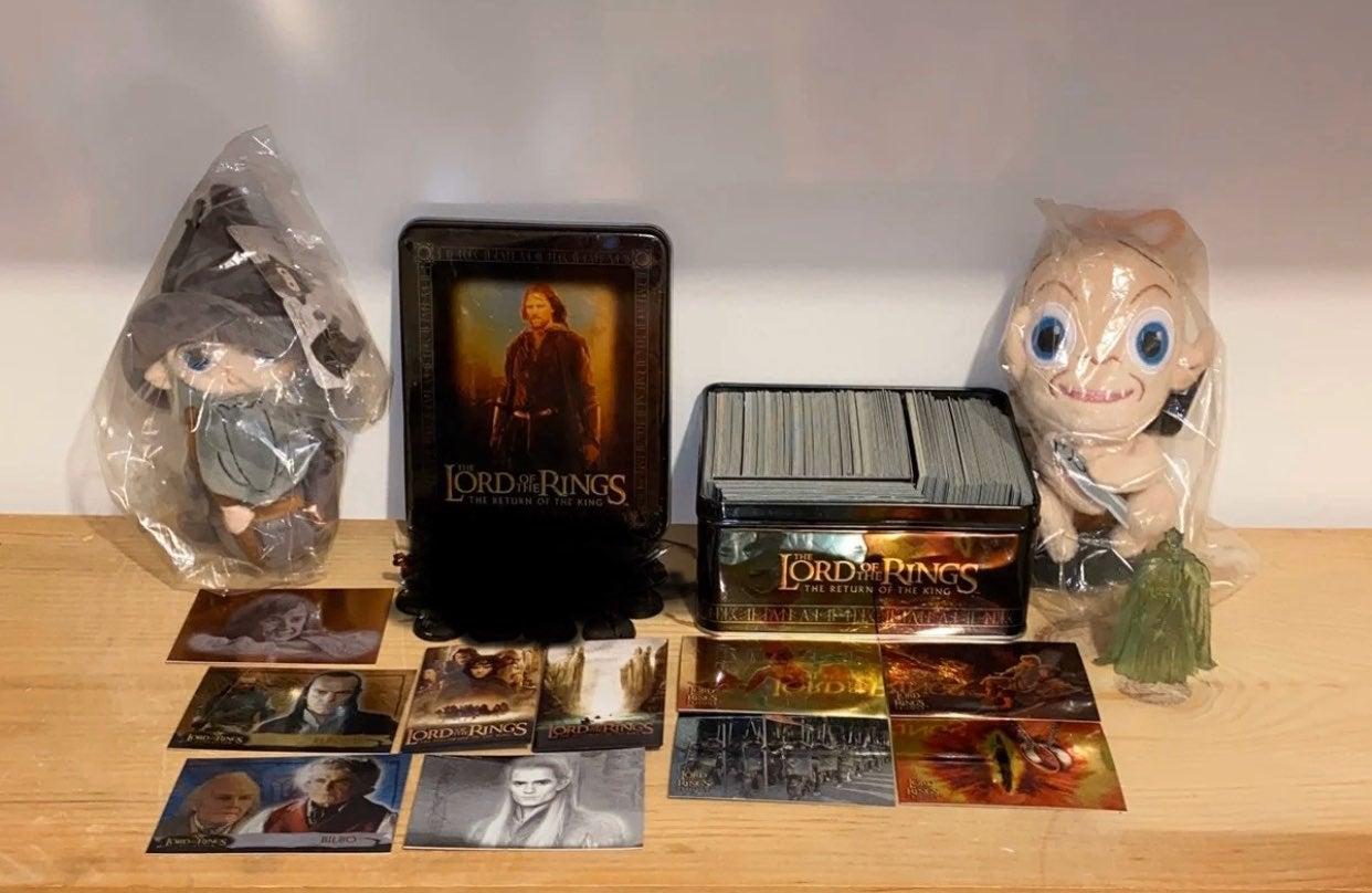 LOTR Plushy Card Games WorkShop Lot