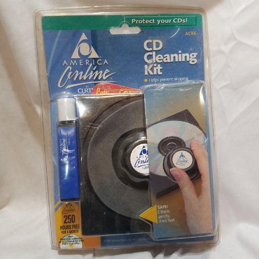 CD cleaning kit, ACK6.  CURTIS COMPUTERS