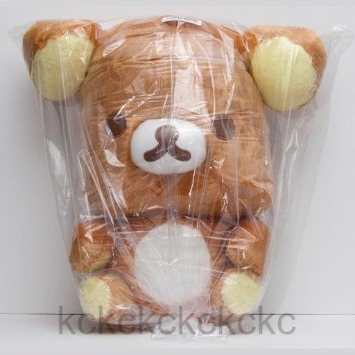 "Big Head Rilakkuma 17"" XL Big Face 42 cm Plush San-X Toreba Japan Exclusive"