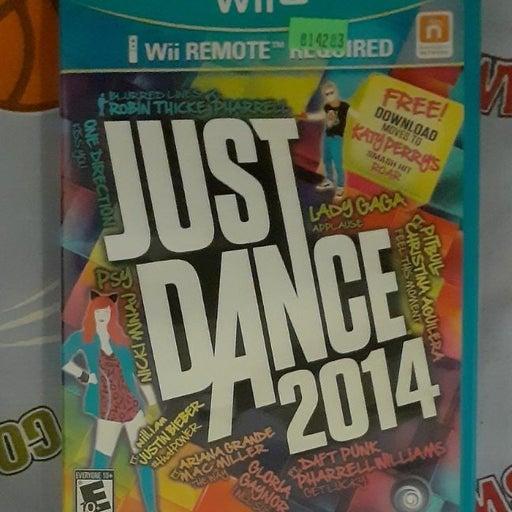 Just Dance 2014 Nintendo Wii U Complete
