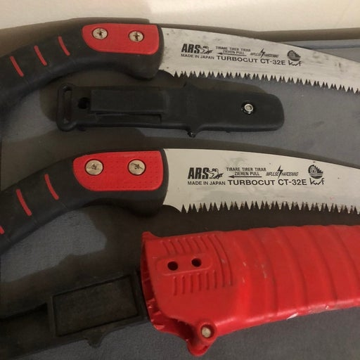 ARS pruning saw with extra blade and har