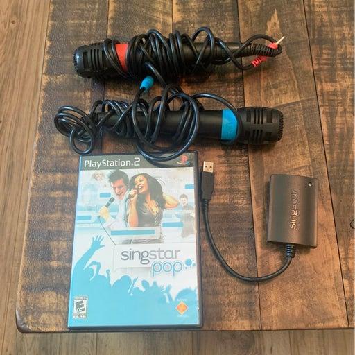 Sing Star Pop (PS2) w/ Microphones