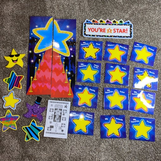 You're a Star Bulletin board set