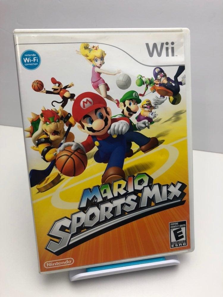 Mario Sports Mix on Nintendo Wii