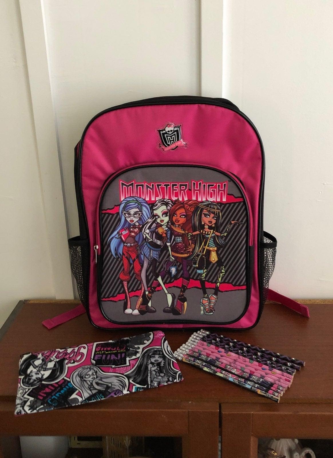Monster High Back To School Set