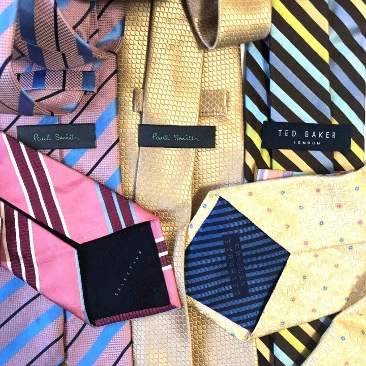 Ties Lot of 5 Designer Wholesale Reselle