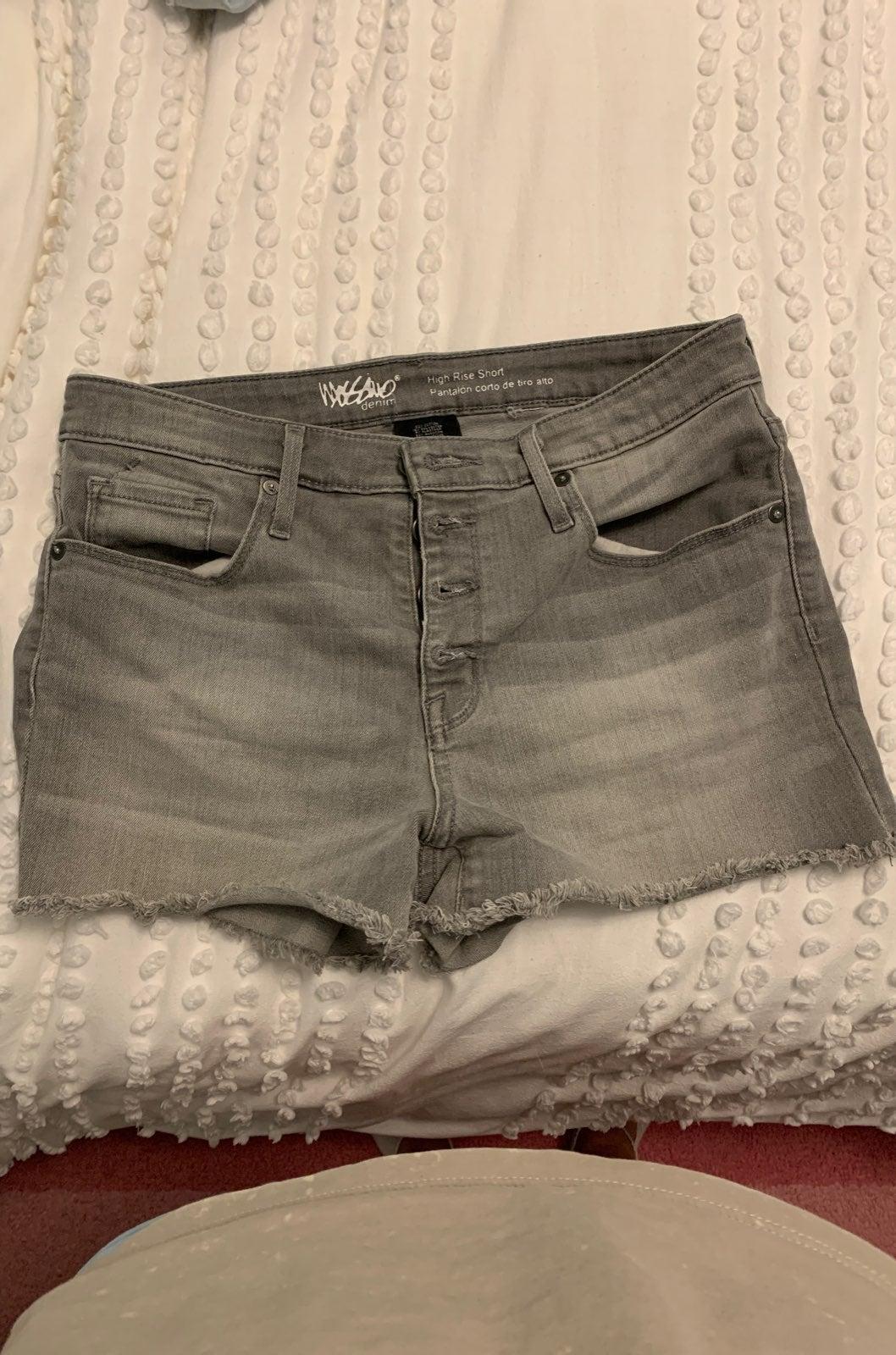mossimo womens jean shorts
