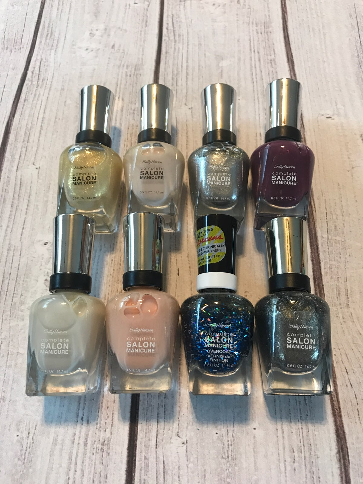 Sally Hansen Nail Polish Lot - New