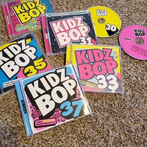 Kids Bop CD Collection Set of 7