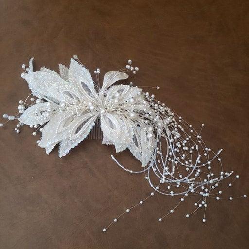 Vintage 1990s Bridal Headpiece Custom