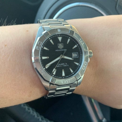 Tag heuer aqua racer auto matic with date