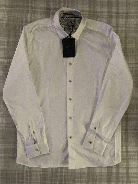 Men's Ted Baker 5 / Dress Shirt White XL