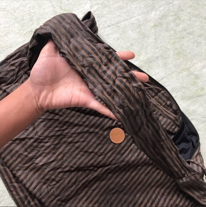 Fendi vintage duffle bag foldable