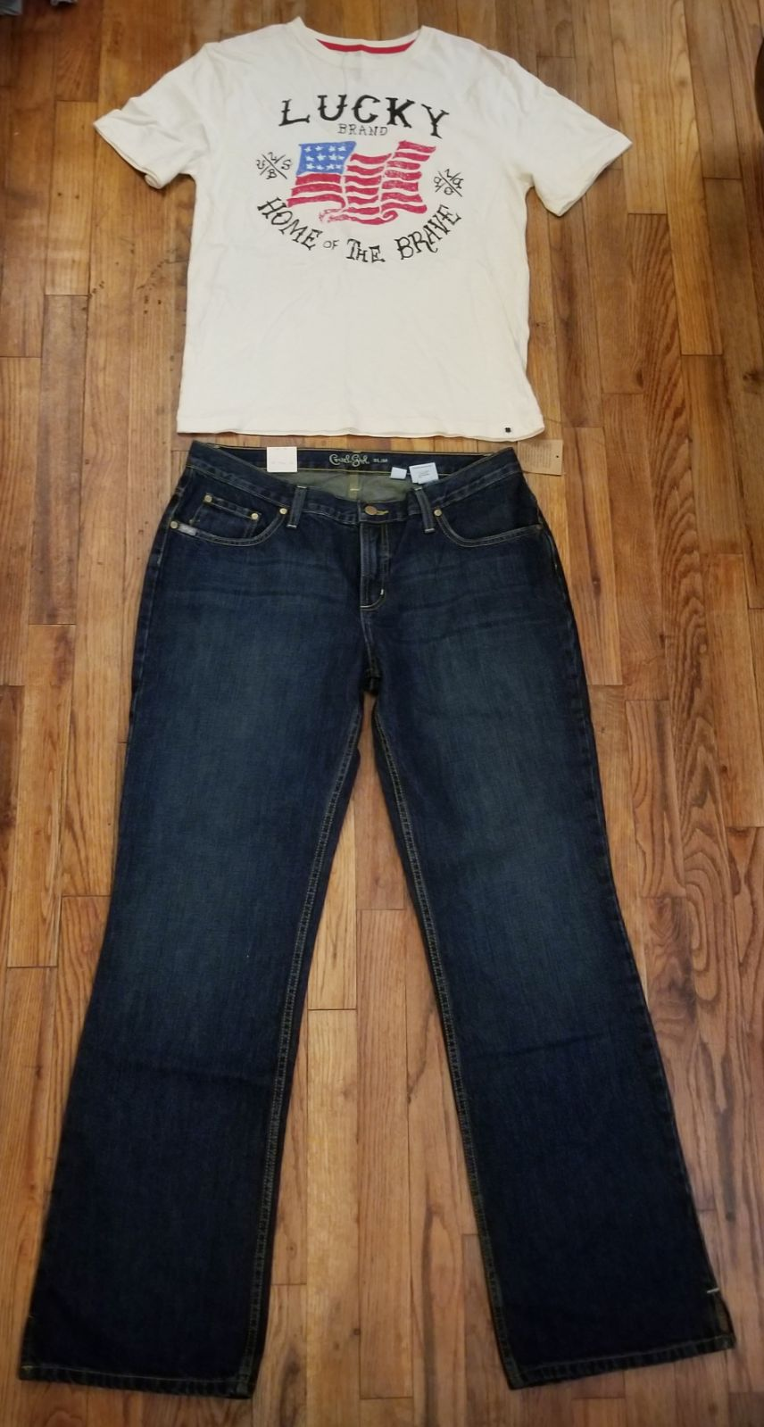 Womens Outfit CRUEL GIRL/ LUCKY BRAND  T