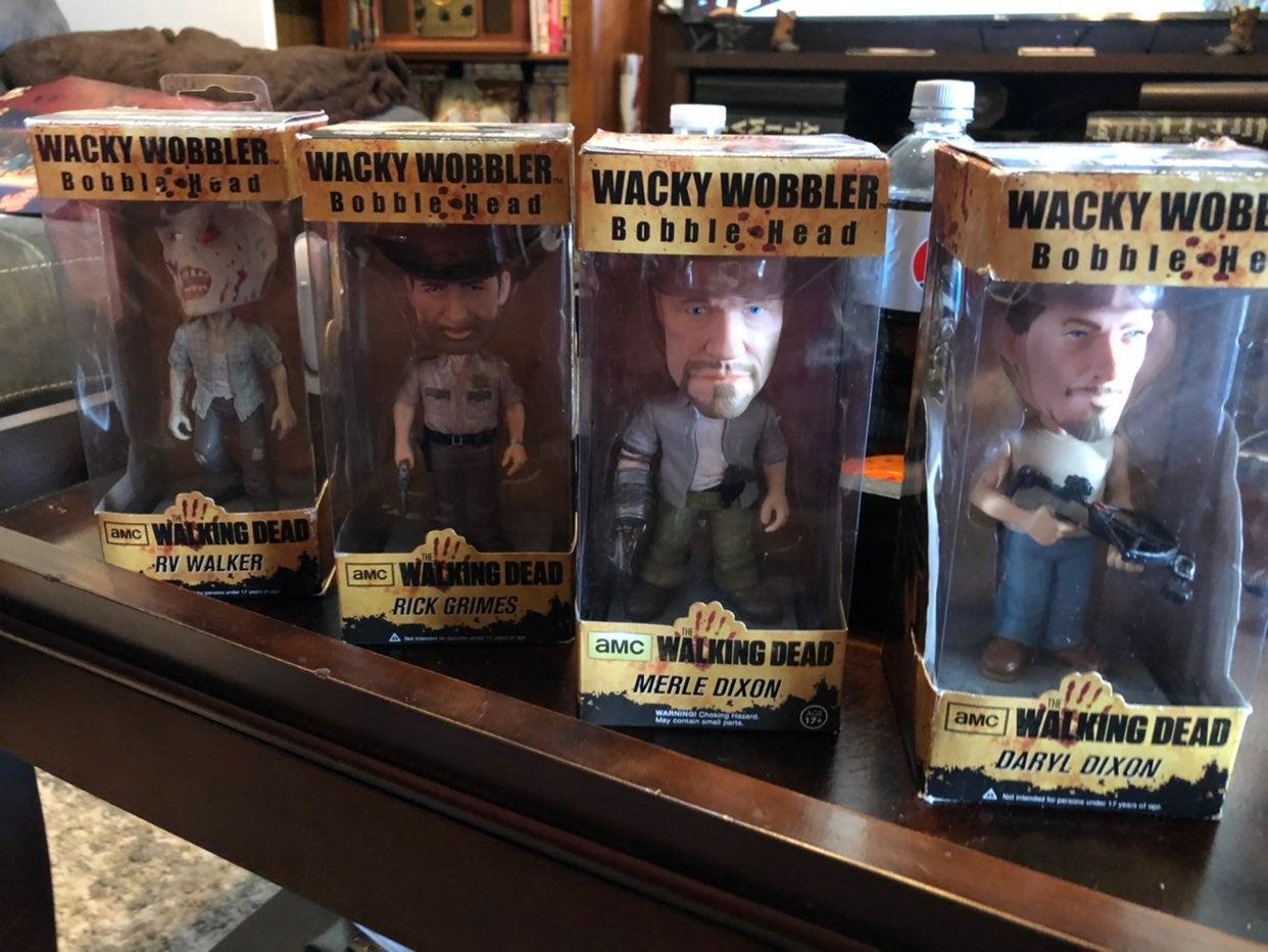 Walking Dead Bobblehead set