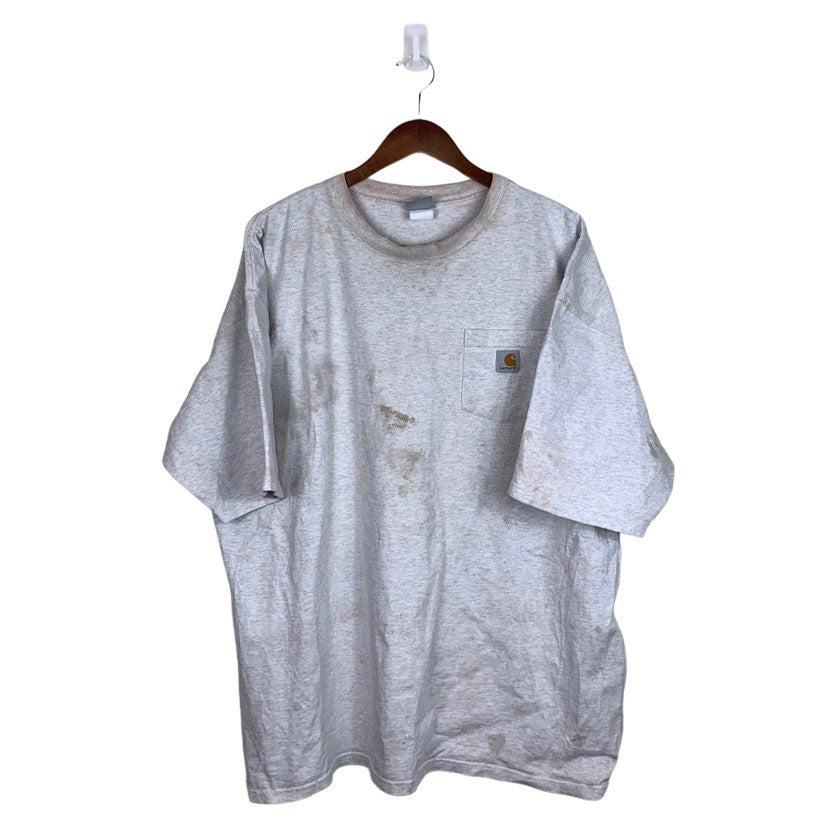 Vintage Carbartt pocket shirt grey