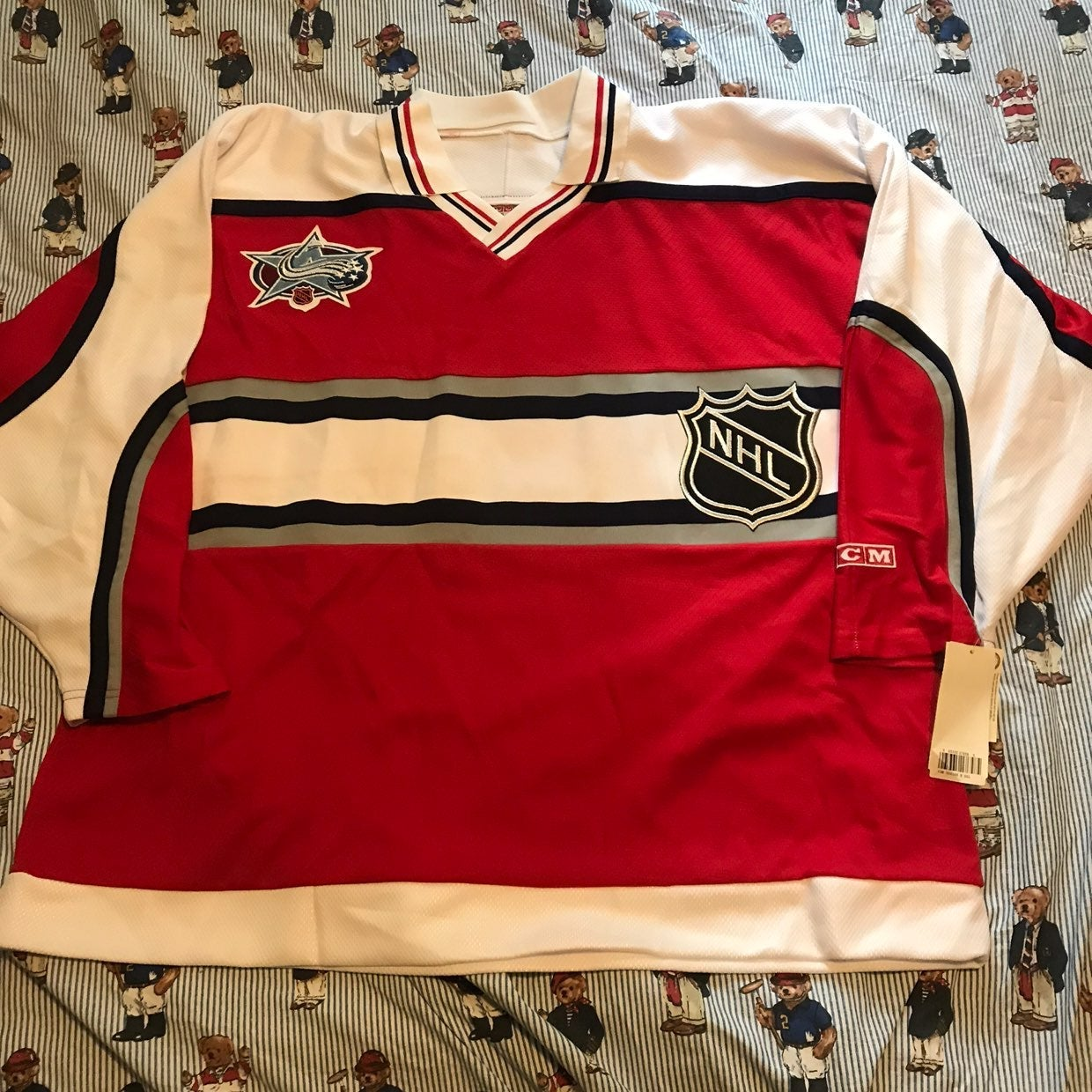 Vintage 2001 Avalanche All Star Jersey