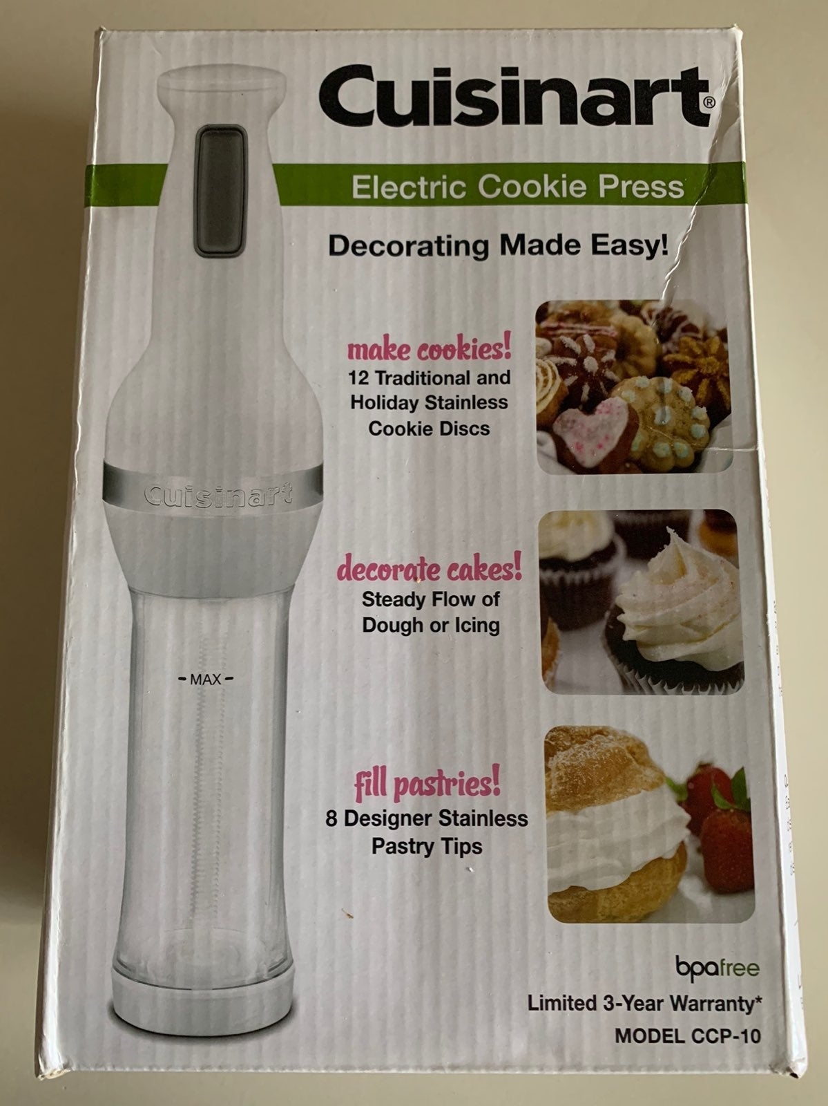 Cuisinart Electric Cookie Press