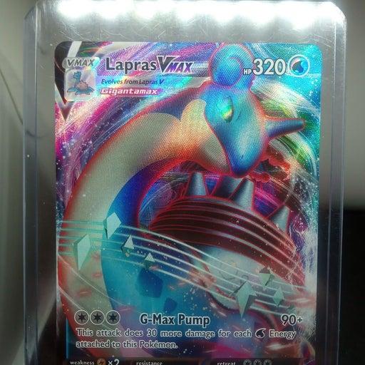 POKEMON LAPRAS VMAX HP 320